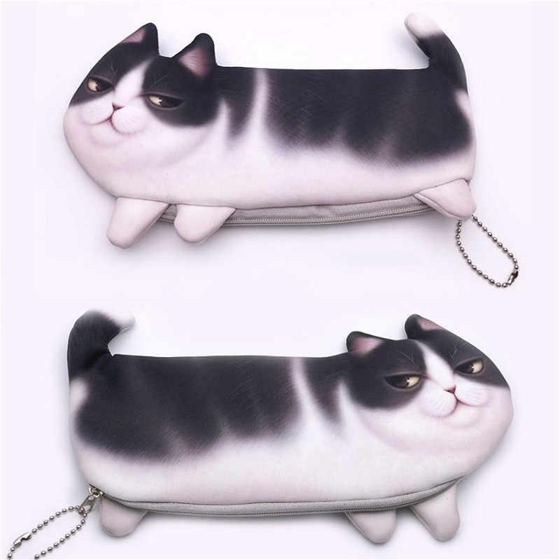 1 Pcs Kucing Besar Pena Tas Boneka Plush Tanaman Gaya Lucu Mewah Mainan Boneka Lembut Mewah Mainan Boneka Mainan Bayi anak-anak Hadiah