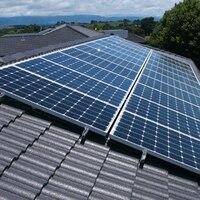 Solar Panel Kit Complete 6KW 6000w Solar Panel 300w 30v Solar Inverter 3000W 6KW 220v Pure Sine Wave PV Cable On Grid System