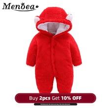 Menoea Baby clothes Autumn winter Warm Playsuit Unisex Kids
