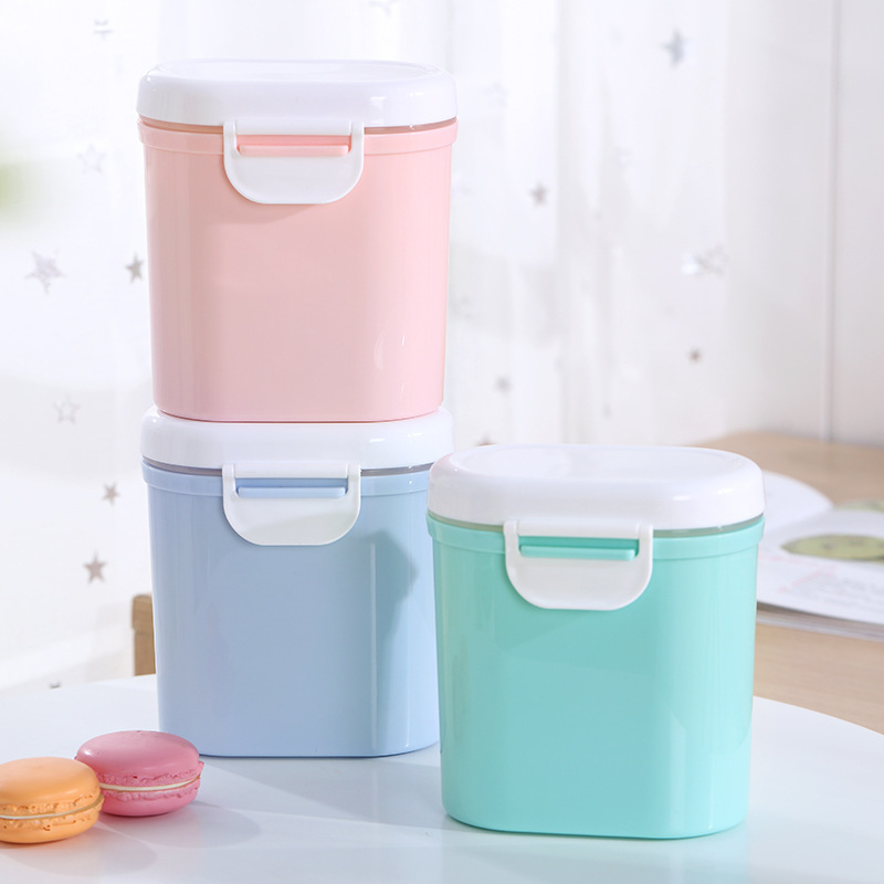 Baby Food Container Storage Milk Powder PP Box Formula Dispenser Feeding Box For Kids Food Formula Milk Storage Infants Portable