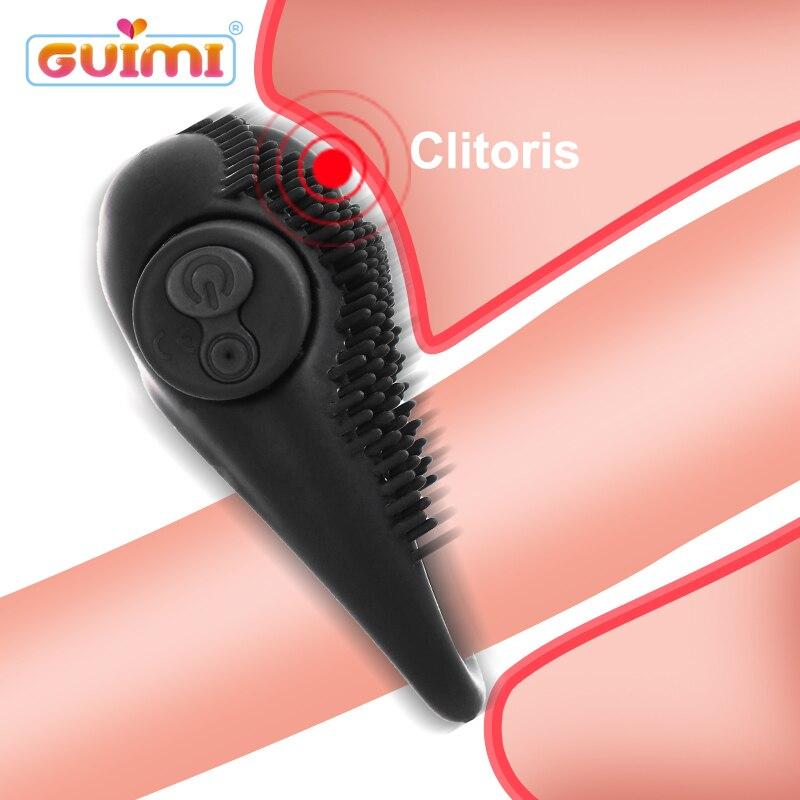 Penis Ring Vibrator Sex Toys For Men Vibrating Cock Ring Penis Erection Clitoris Stimulator Erotic Sex Toys For Couples Sex Shop