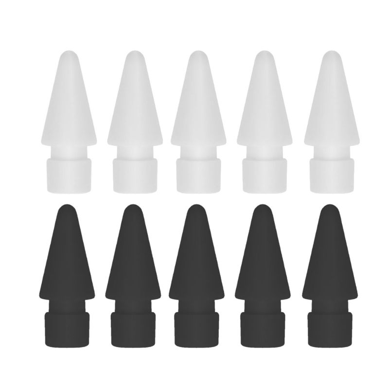 5Pcs Spare Nib Tip For Apple Pencil 1st 2st IPad Pro Stylus Touchscreen Pen