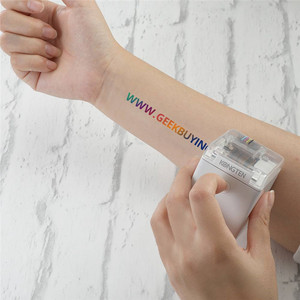Image 4 - 【In STOCK】Kongten Mbrush Printer Bluetooth Mobile Color Mini Handheld Printer Portable Wifi Printers PrinCube Handheld Inkjet