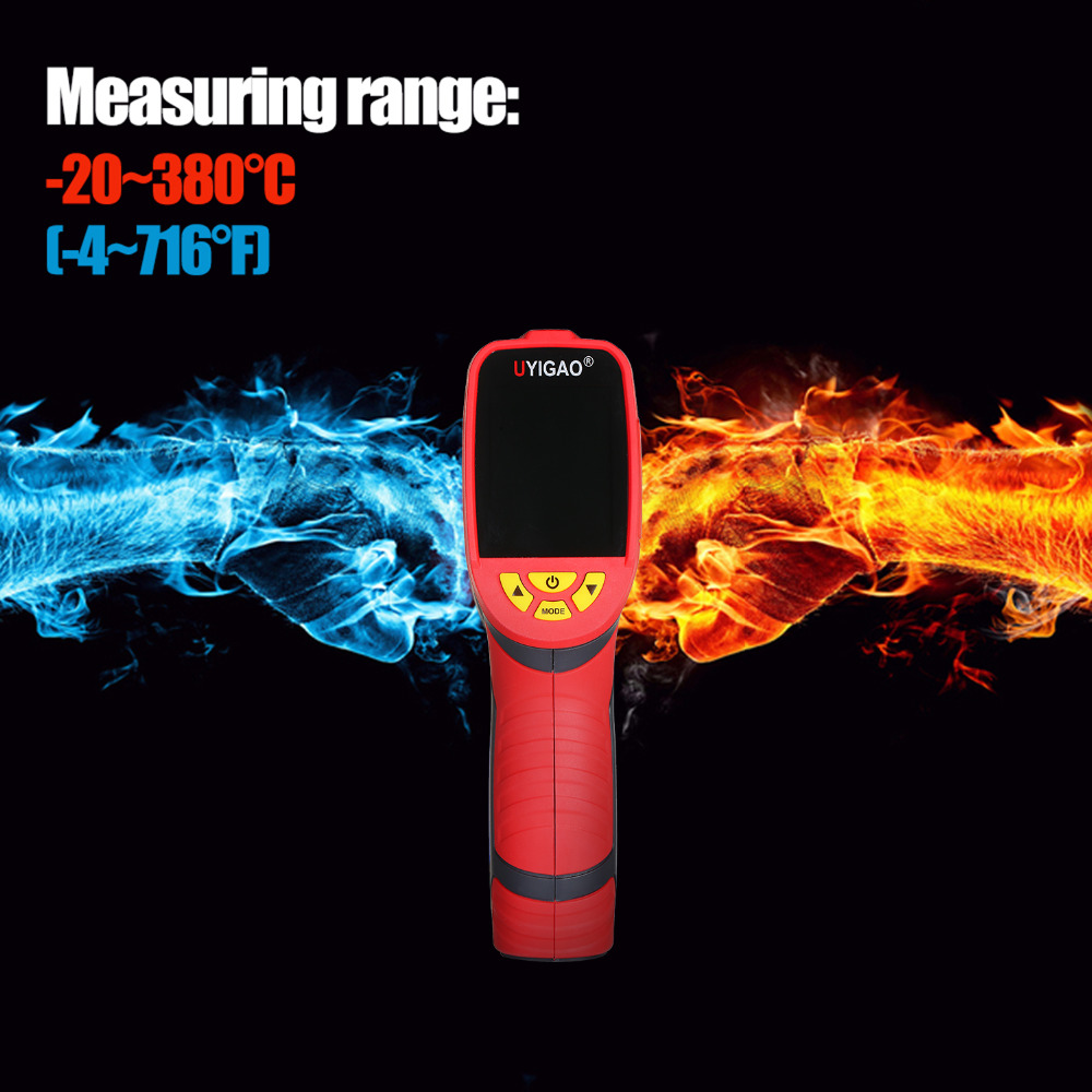 Digital Mini Infrared Thermal Camera Made With ABS Material For Measuring Tools 12