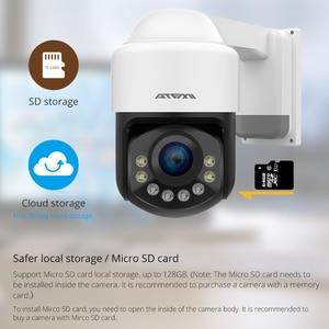 Image 4 - ATFMI واي فاي 1080P PTZ IP كاميرا 4X التكبير كاميرا شبكة مراقبة كامل اللون للرؤية الليلية H265 2MP مقاوم للماء IP66 IR 60m PTZ 1920X1080