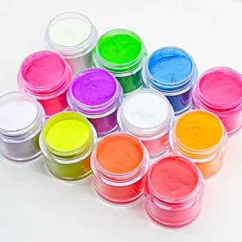 2 w 1 Glow in Dark Nail Art proszek do zanurzania neonowy fosforyzujący proszek akrylowy proszek akrylowy i proszek do zanurzania 2 użyj zestawu pigmentowego tanie i dobre opinie MAFANAILS CN (pochodzenie) 1 Jar 1 ounce Akryl i cieczy Acrylic As pictures show Neon Acrylic Powder Liquid Nail acrylic powder