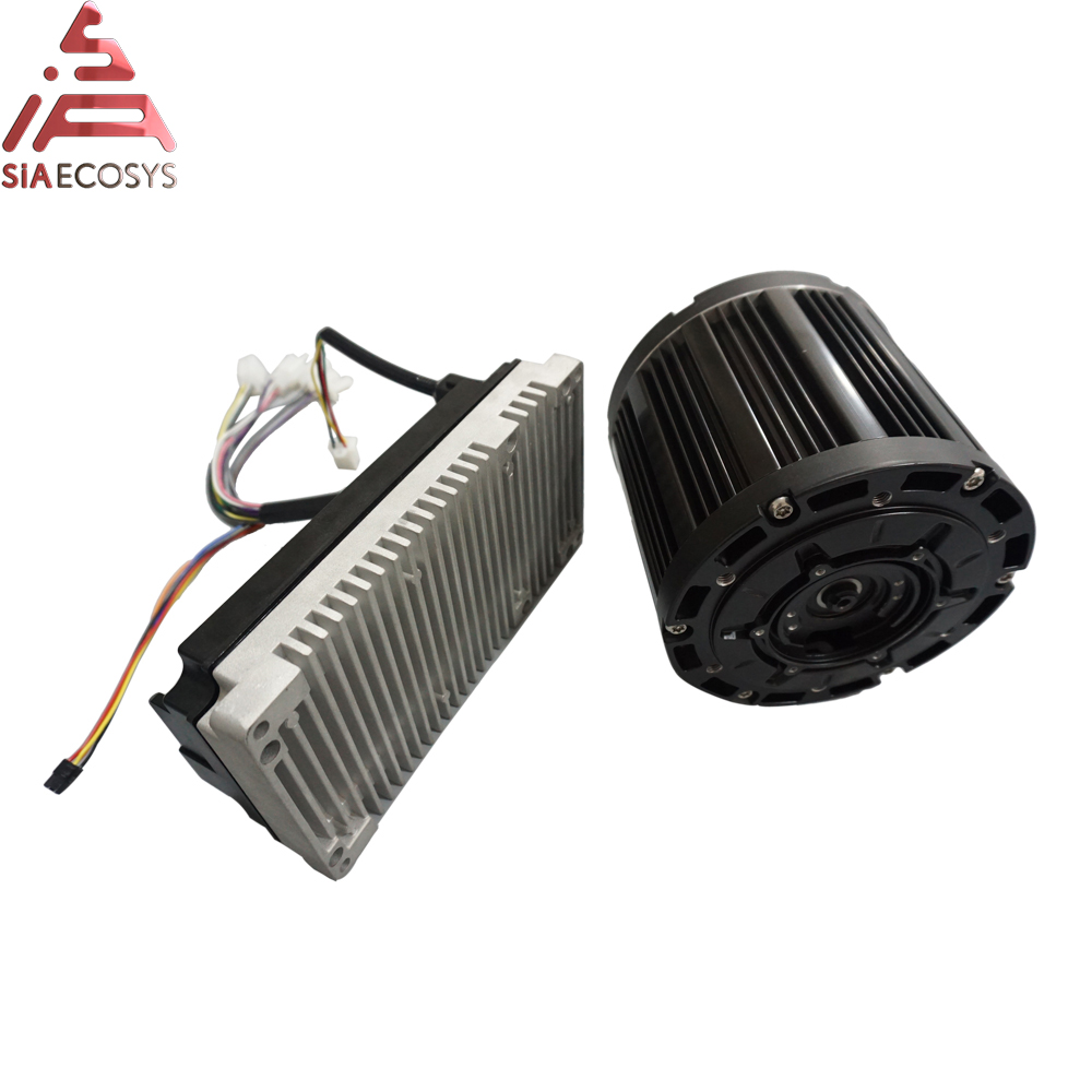 QS MOTOR 3000W 138 70H Belt Design Mid Drive Motor With EM150S Controller Max Speed 100kph