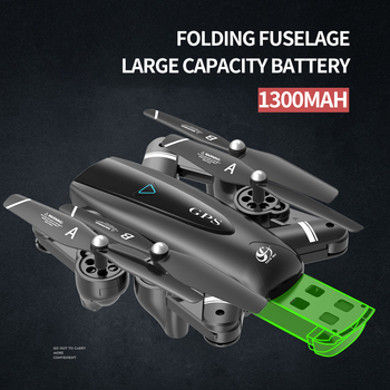 S167 GPS Drone with Camera RC Quadcopter Drone WiFi FPV Foldable Off-Point Flying Gesture Photos Video Helicopter Toy 4