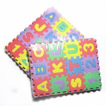 Number Pattern Foam Puzzle Kids Rug Carpet Split Joint EVA baby Play Mat Indoor Soft activity Mats