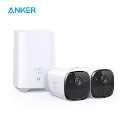 Eufy Sicherheit, eufyCam 2 Pro Wireless Home Sicherheit Kamera System, 365-Tag Batterie Lebensdauer, homeKit Kompatibilität, 2K Auflösung,