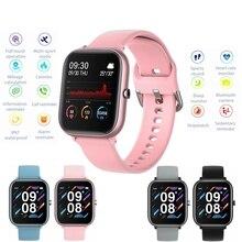 2020新メンズ · レディーススポーツスマート腕時計P20フィットネスブレスレット心拍数モニター防水スマートウォッチアップルxiaomi huawei社