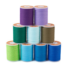 11m//roll Round Waxed Polyester Twisted Cord  Craft Braided Bracelets String 1mm
