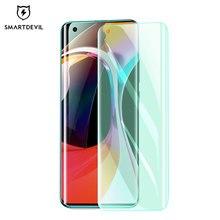 SmartDevil – protecteur décran pour Xiaomi mi 11 Ultra 11pro, Film quantique à couverture complète, lumière verte, pour mi 10 10pro 10 Ultra 10s