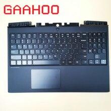 Американская, с задней подсветкой Клавиатура чехол для LENOVO Легион Y7000P-15 Y7000P подлокотник для ноутбука верхний регистр/w белее клавиатура с подсветкой и тачпадом