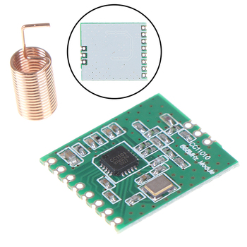 CC1101 Wireless Module Long Distance Transmission Antenna 868MHZ SPI Interface Low Power M115 For FSK GFSK ASK OOK MSK 64-byte
