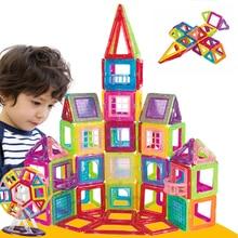 New 263PCS Magnetic Designer Construction Set Model & Building Plastic Magnetic Blocks Educational Toys For Children Gift 110pcs magnetic building blocks model