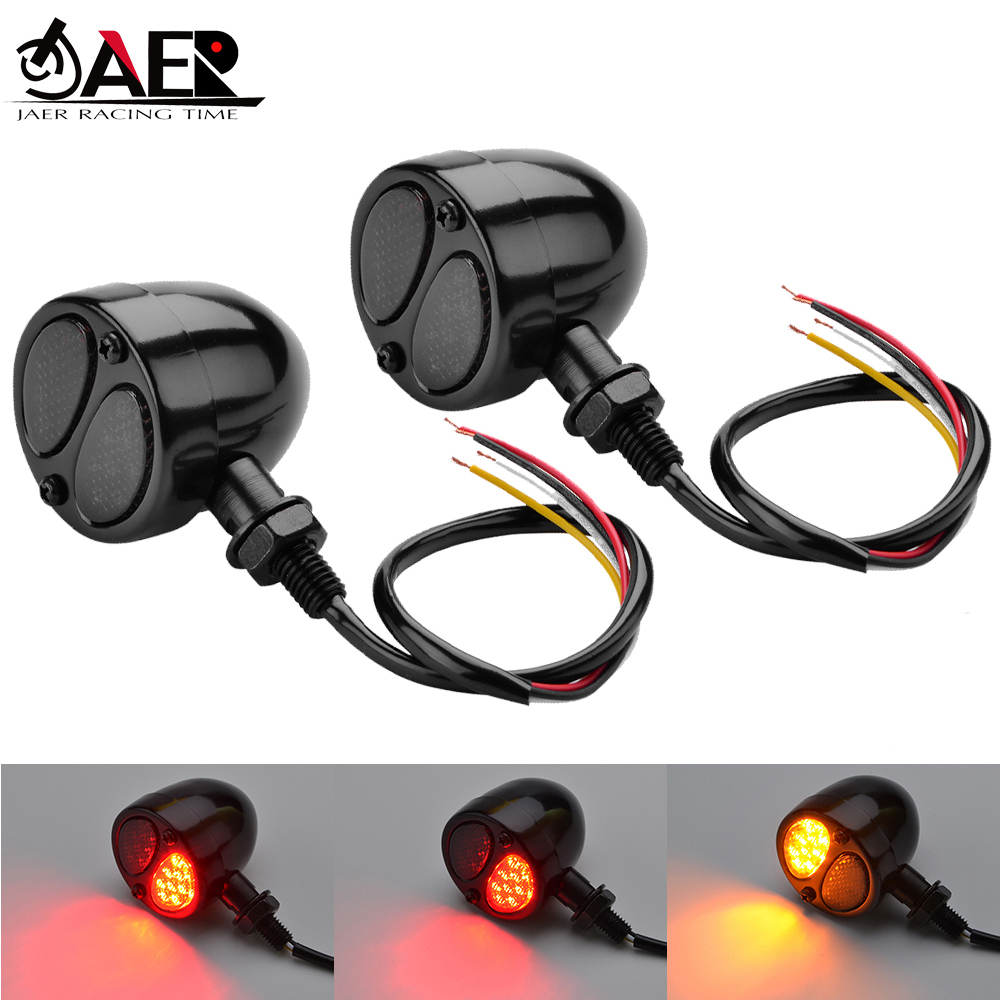 Touring Motorbike INNOGLOW Motorcycle Turn Signals 4pcs LED Bulb Indicators Motorbike Blinkers Amber Lamp Lights Fits for Choppers Cruisers