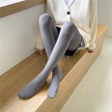 New Casual Autumn Winter Thin Pantyhose Velvet Thermal Ankle Slim Leggings for Women Pants Multi-color Elastic Base Socks hot