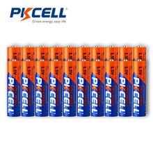 40PCS 20PCS PKCELL Bateria Alcalina 1.5V AAA LR03 AM4 E92 140MIN + 20PCS LR6 E91 AM3 UM3 MN1500 MIN 360 Pilhas AA para a televisão digital