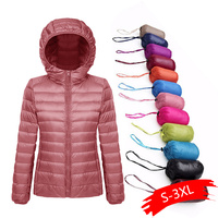 Plus Size 5XL 6XL 7XL Winter Down Jacket Women Eiderdown Outwear Winter Warm Coat Ultralight White Duck Female jackets