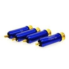 4 pces WBT-0110Cu nextgen rca conector plug novo