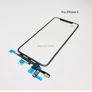 Image 2 - Novecel Original Quality LCD Display Touch Screen Front Outer Glass Panel with Flex Cable For iPhone X XS Max Replacement Parts