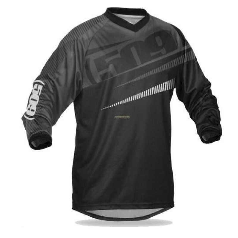2020 Pria Jatuh Pakaian Olahraga Jersey MTB Muffler Kamar Pembalap Off-Road Sepeda Gunung Off-Road Jersey BMX DH MTB T-shirt