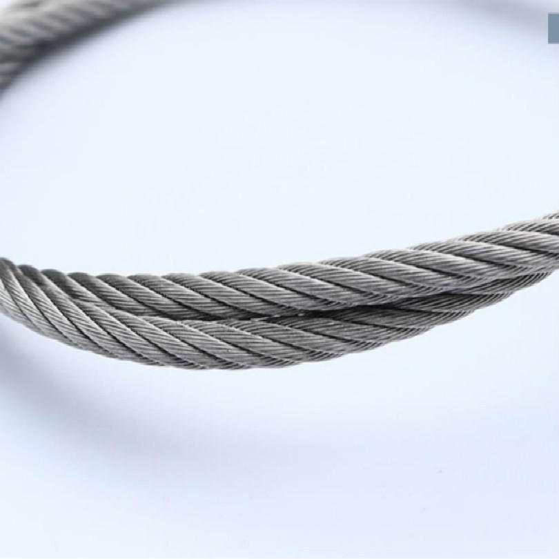 Купить с кэшбэком suppress diameter 2MM 2.5MM 3MM 4MM 5MM 304 stainless steel wire rope cabel steel 2M/LOT FREE SHIPPING