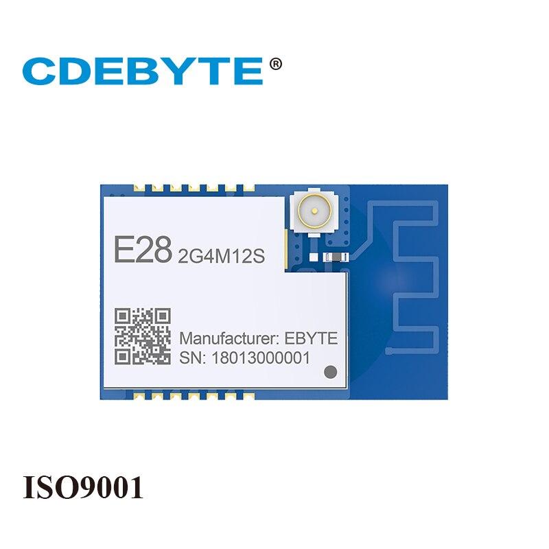 Ebyte E28-2G4M12S SX1280 LoRa 2.4GHz 12.5dBm SPI IoT Module GFSK FLRC Bluetooth Transmitter Receiver IPEX PCB