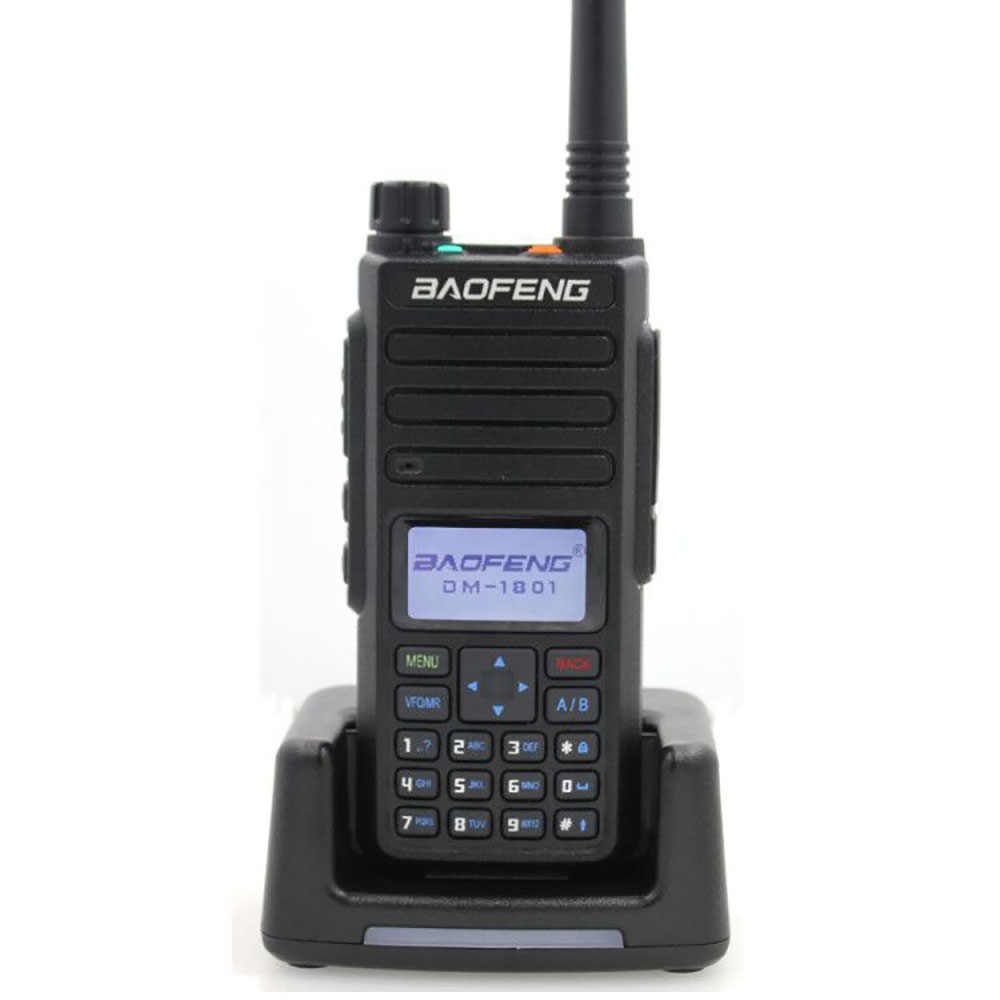 Orignal Baofeng DM-860 DM-1801 Digitale Walkie Talkie Caricabatteria Pro DM-860 dm-1801 portatile Ham Two Way Radio