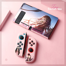 For Nintendo Switch TPU Soft Silicone Skin Case Cute Cartoon Cover Shell Case For Nintendo Switch NS Accessories Ultra thin