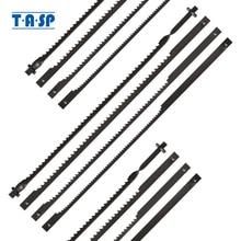 "TASP 12pcs 4"" 105mm Pinned Scroll Saw Blades Wood Cutting Blade for Dremel Moto Saw"