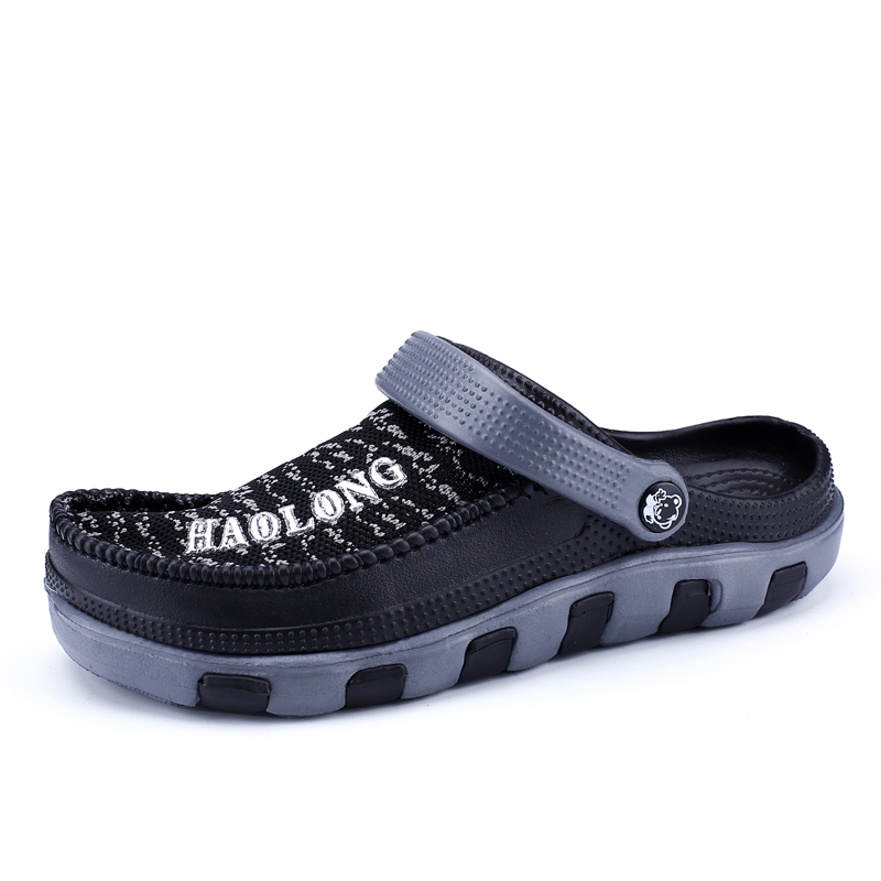 Pantufa De Unicornio Limited 2019 New Mens Sandals Males Eva Cave Shoes Men's Clogs Slipper High Quality Breathable Lightweight