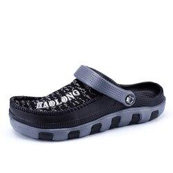 Pantufa de unicornio limited 2019 novos homens sandálias homens eva caverna sapatos tamancos chinelo de alta qualidade respirável leve