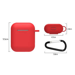 For AirPods Silicone Case Cover Protective Skin for Apple Airpod Charging Case Perfect Fit - The Slim and Form Case Designed S24
