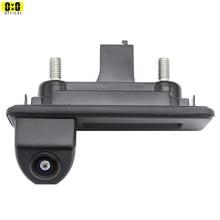 Caméra de recul Audi Fisheye véhicule caméra de recul pour Skoda Roomster Fabia Octavia Yeti rapide superbe pour Audi A1 A4L A3 voiture