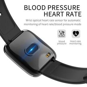 Image 5 - BINSSAW kadınlar akıllı saatler egzersiz kalp atışı takip cihazı IP67 su geçirmez spor akıllı bileklik erkekler renkli ekran Alarm bilezik