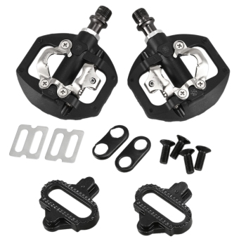 Bicycle Pedal MTB Bike Self-Locking SPD Pedal Clipless Pedal Platform Adapters for Shimano Spd Looking Keo System Accessories bicycle pedal mtb bike self locking spd pedal clipless pedal platform adapters for shimano spd looking keo system accessories