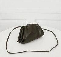 fashion Cloud Bag For Women Messenger Bag Soft Leather Madame Bag Single Shoulder Slant Dumpling Bag Handbag Day Clutches bags