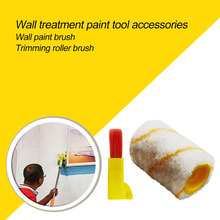 Roller-Brush-Set Painting-Roller Safe-Tool Edger Clean-Cut-Paint Ceilings Home-Wall