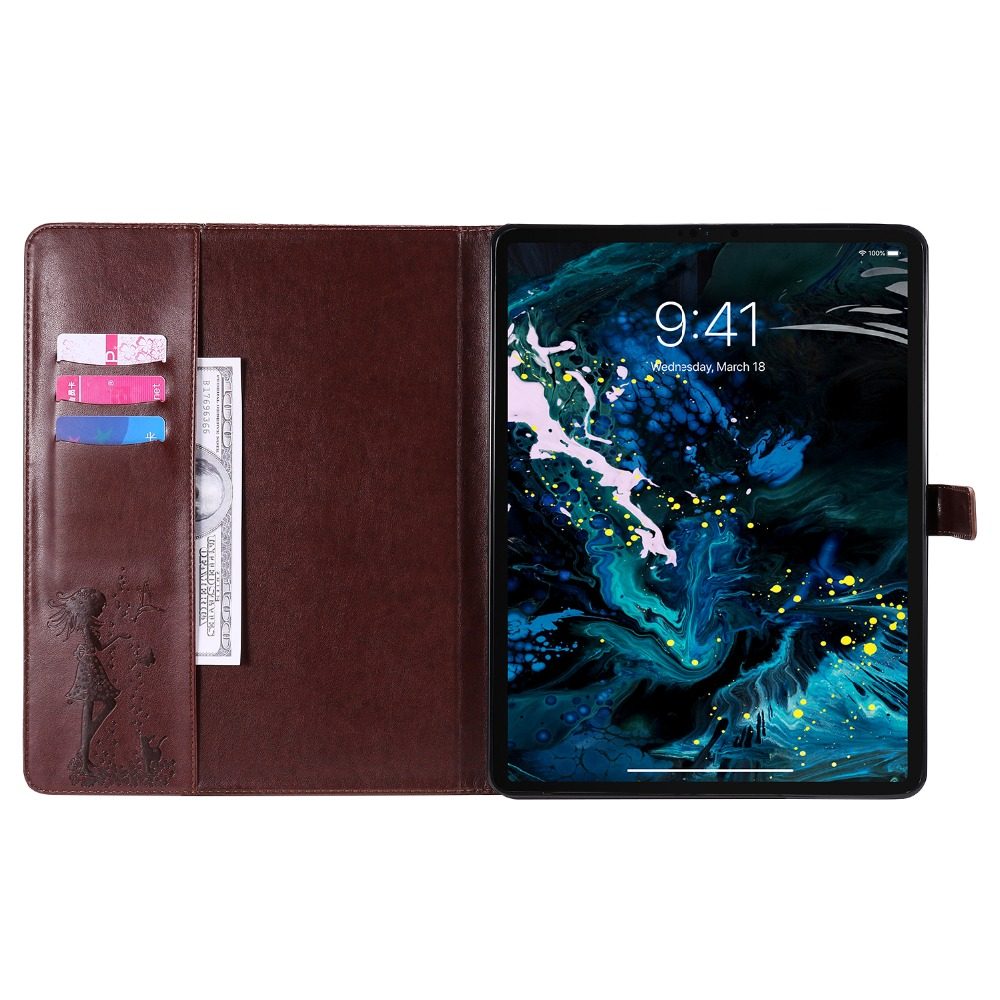 4th 2020 Stand Cover Shell Protective Case Leather Folio For iPad Cover 12.9