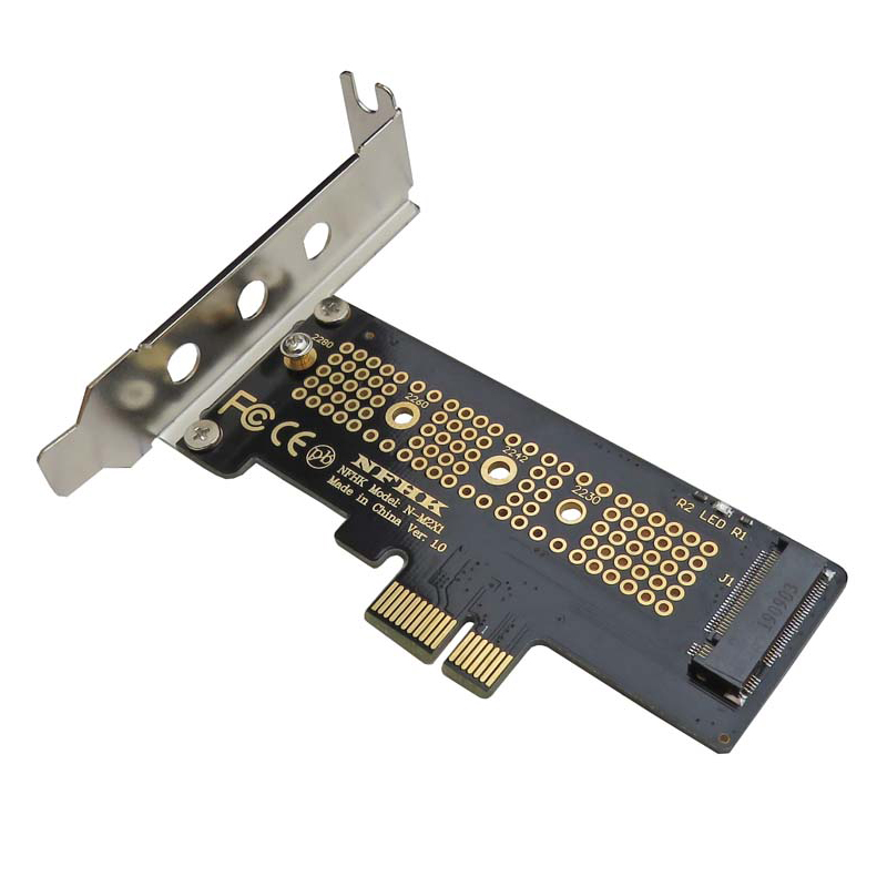 Adapter-Card Bracket Pcie NGFF 2260 2230 X1 M.2 SSD To with for 2240/2260/2280/..