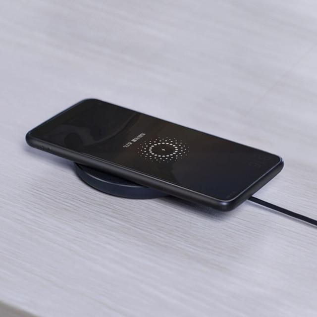 Xiaomi Qi 10W chargeur sans fil chargeur rapide intelligent pour xiaomi poco f2 pro NFC 10W pour samsung S9
