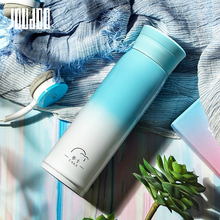 JOUDOO 500ml Creative Steel Thermos Bottle 6-12 Hours Stainless Vacuum Flasks Gift for Lovers Friends 35