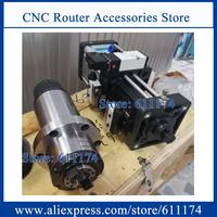 ATC Spindle synchronous belt drive spindle BT30 10000rpm sleeve 100mm with air Cylider