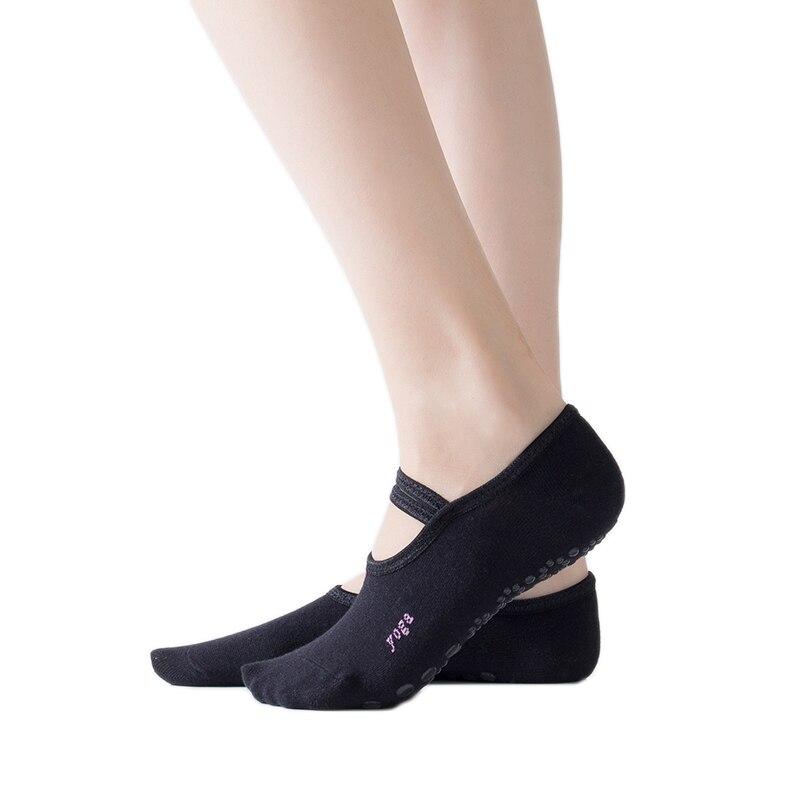 Yoga Pilates Ballet Socks Dance Sock Cycling Socks Anti Slip Bandage Cotton Sports Yoga Socks Dance Slippers Fitness Ballet Sock