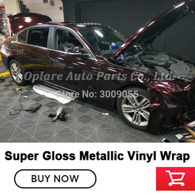 *High Gloss Glitter Light Purple Sparkle Metallic Premium Car Vinyl Wrap Sticker