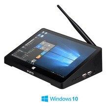 Pipo X9S Win 10 מיני מחשב Intel דובדבן שביל Z8300 Quad Core 4G/64G 2G/ 32G חכם טלוויזיה תיבת 8.9 1920*1080P מסך מגע Tablet