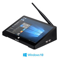 Pipo X9S Win 10 Mini PC Intel Cherry trail Z8300 Quad Core 4G/64G 2G/32G Smart TV Box 8.9 1920*1080P Touch Screen Tablet