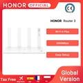 Глобальная Версия Оригинал Huawei Honor маршрутизатор 3 Wi-Fi 6 + 3000 Мбит двухдиапазонный беспроводной маршрутизатор умный дом маршрутизатор